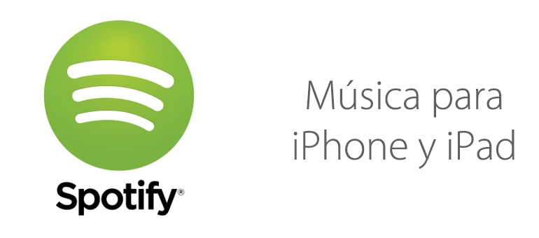 Música gratuita en Spotify para iPhone y iPad